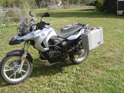 BMW F700GS Luggage