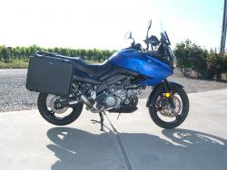 Suzuki V-Strom DL650 side luggage