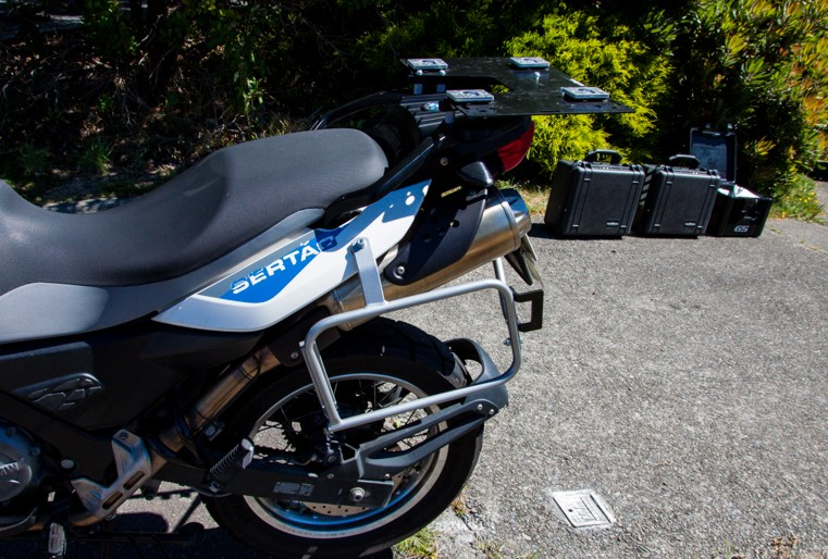 Bmw F650gs G650gs Hepco Becker Lock It Removable Side Luggage Racks