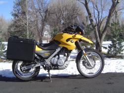 BMW F650GS Dakar side luggage