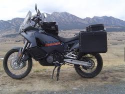 KTM 950 990 Adventure luggage