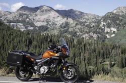 Suzuki V-Strom DL650 Adventure luggage