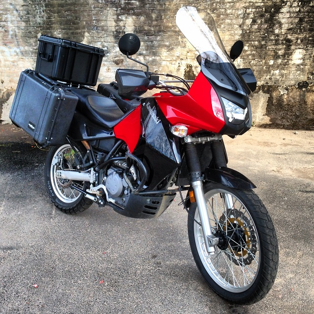Panniers For Klr 650 Kawasaki Klr 650 2008 And