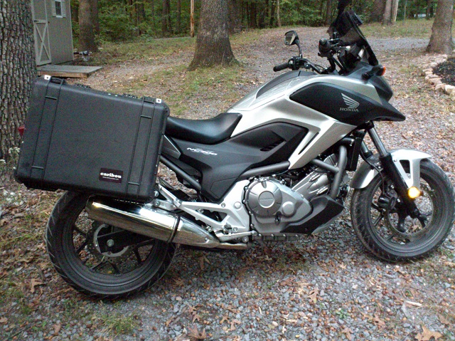 Honda Nc700x 35 Liter Caribou Pelican Side Luggage Panniers