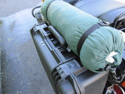 Motorcycle Luggage Tie Down