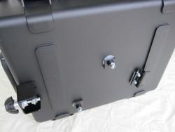 BMW G650GS Sertao side luggage