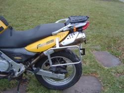 BMW G650GS Sertao side luggage